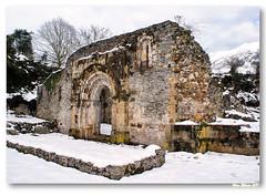 Ruínas da igreja de San Pedro de Plecín