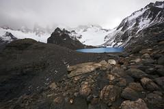 Laguna de los Tres - Patagonia - Argentina (tigrić) Tags: travel patagonia lake southamerica argentina turquoise elchalten losglaciaresnationalpark lagunadelostres fitzroyrange parquenacionallosglaciares