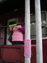 Train poles