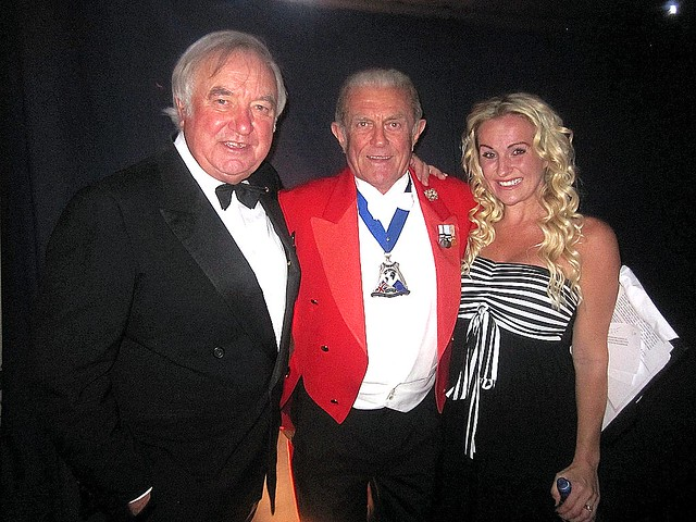Jimmy Tarbuck and Keedie Babb