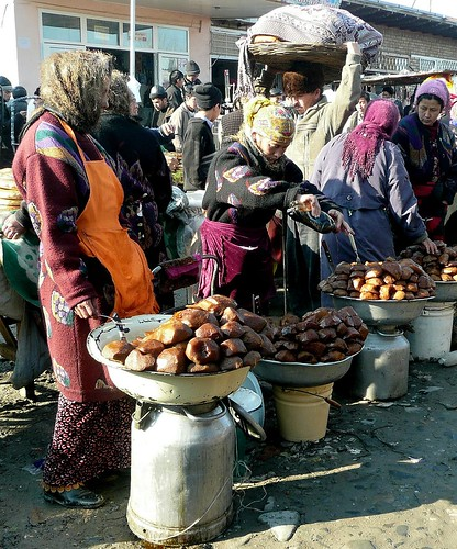 Vendors - Urgut, Uzbekistan