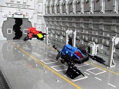Chase me! (Legoloverman) Tags: lego spacepolice mtron ianisawesome