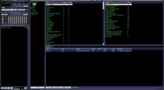 Screen do Winamp 2.91.