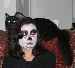 Darlene and spider kitty