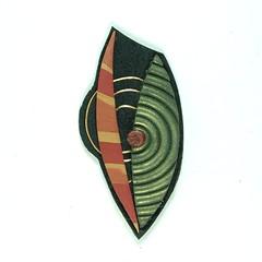 B9023 (JanGeisen) Tags: brooch jewelry polymerclay jangeisen