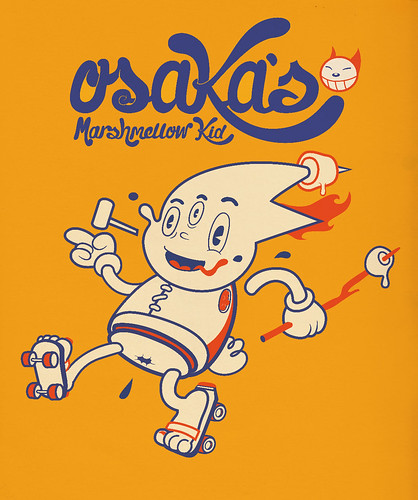 Osaka´s Marshmellow Kid (Fake Japanese Ad Characters Set)