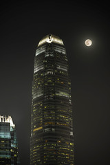 full moon outside my window (..) Tags: city moon night hongkong fullmoon ifc hdr gettyimageshongkongmacauq1