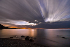 K20D3495 (Bob West) Tags: longexposure nightphotography ontario beach night clouds lakeerie cloudy greatlakes moonlight nightshots southwestontario bobwest k20d pentax1224