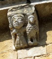 Cadouin corbels (YIP2) Tags: sculpture france abbey gothic dordogne cloister cistercian corbel abbaye perigord cloitre corbels cadouin cistercienne