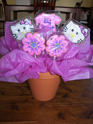 Hello Kitty Cookie Bouquet