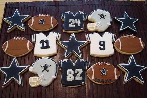More Dallas Cowboys Cookies