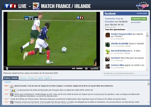 Match Football Irlande-France en Live sur TF1