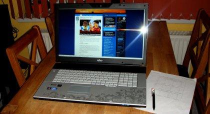 Fujitsu amilo Notebook