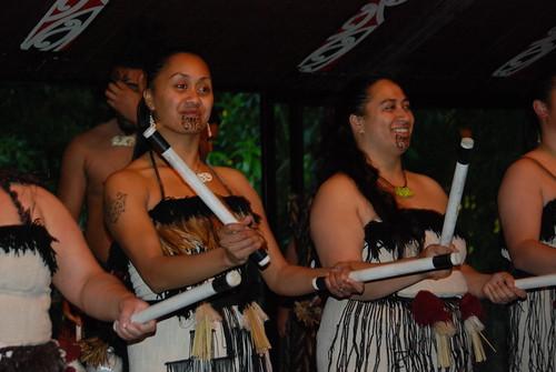 Danzas maoríes - Tamaki Village por leftwing1974.
