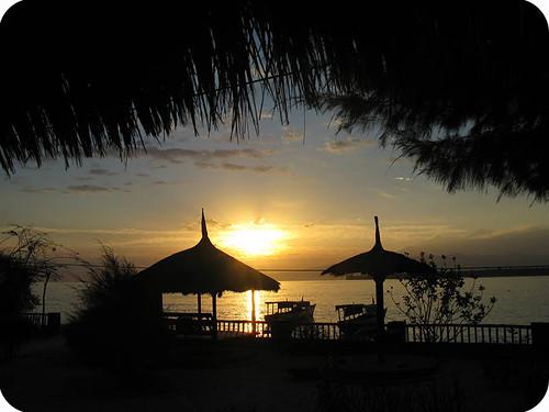 sunrise Gili Meno, Indonesia