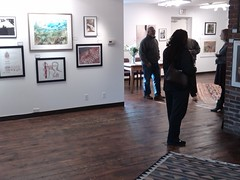Friday Opening (Three Ravens Gallery) Tags: original abstract art philadelphia three gallery mixedmedia contemporary pastel paintings event international opening ravens ardmore preview mainline threeravens threeravensgallery ardmoreartgallery
