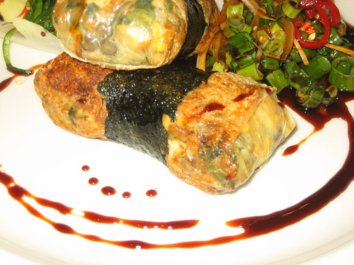 lentil parcels at shakahari