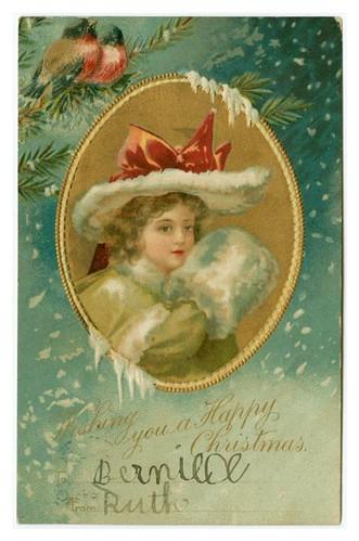 026-Tarjeta Navideña 1907-NYPL