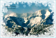 Happy Holidays (mountainbeliever) Tags: winter snow mountains nature beauty weather rockies landscapes colorado views rockymountains happyholidays picnik fourcorners mountaintops southwestcolorado mountainweather snowypeaks groundblizzard winterintherockies windypeaks mountaintopstorms mountaintopgroundblizzard
