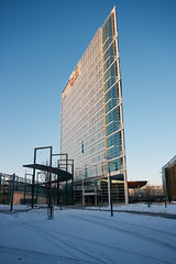 flat building (debian45) Tags: jyvaskyla finlande flatbuilding