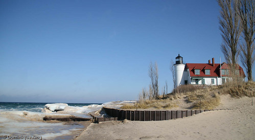 Point Betsie winter 1