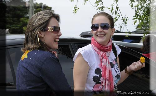 Daiane e Marcela (Papparazzi)