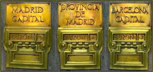 Historias matritenses buzones de correos - Buzones de correos madrid ...