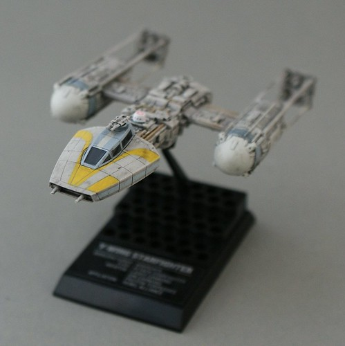 Star Wars 1/144 - Y-wing with R5 - 8