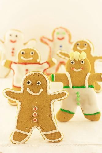 Gingerbread Xmas cookies