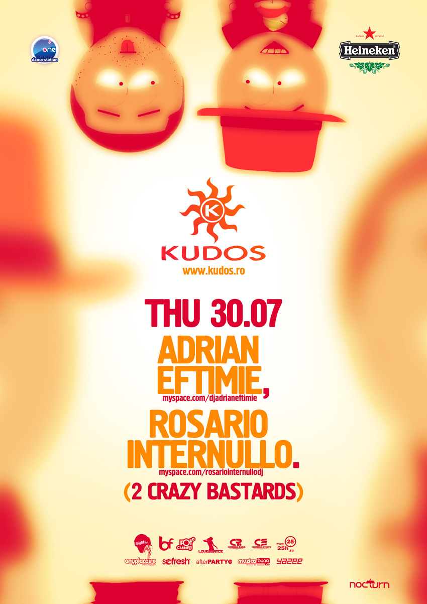 kudos beach poster - 2 crazy bastards