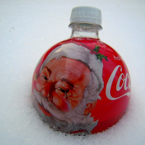 Coca-Cola holiday bottle