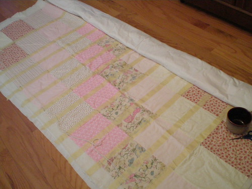 Quilt in progress for Mom