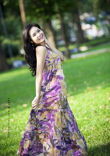 model Mai Vy - Thiếu nữ Sài Gòn