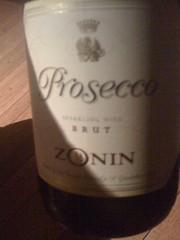 NV Zonin Prosecco Brut
