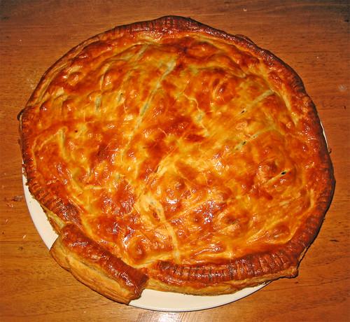 conchiglia di pasta sfoglia con pesce e verdure by fugzu