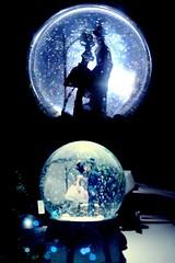 I love You (Bm.bo) Tags: blue white snow black portraits kiss couple best panasonic loveit iloveyou celebrate 1month the supershot flickraward princeandprincess gujaratphotographyclub ourfestivalsaroundtheworld