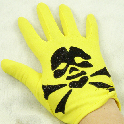 how to make gloves sticky