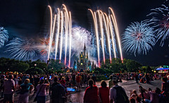 Brilliant wall of fireworks (Hallowishes) (CodyWDWfan) Tags: world castle hub orlando angle florida fireworks sony magic wide sigma kingdom disney disneyworld wishes cinderella wdw waltdisneyworld 1020mm walt ultrawide ultra magickingdom sigma1020mm 10mm cinderellacastle themagickingdom ultrawideangle a700 hallowishes sonya700 dslra700 sonydslra700 sigma50th