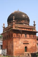 Sandstone Masjid (Nagarjun) Tags: chalukya rockcut badamicaves