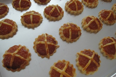 Pineapple Tarts Baked