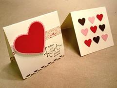 Valentine's Day ('10) mini cards