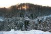 Snowy evening, Stocky Bottom