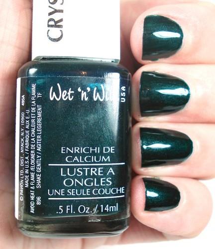 Wet & Wild 495A Blackest Green