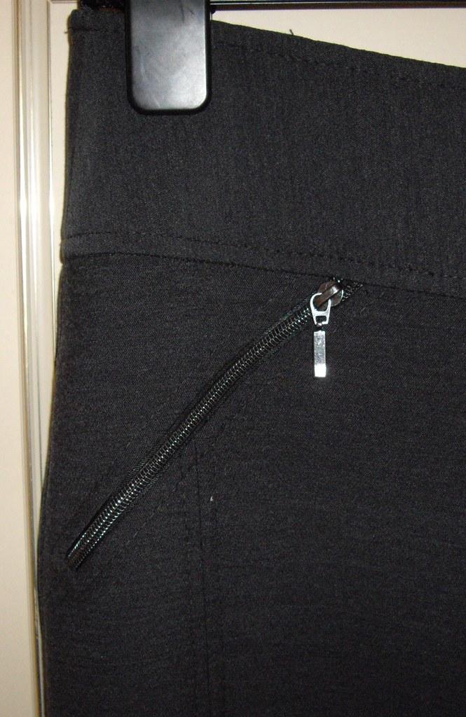 Next skirt zip detail