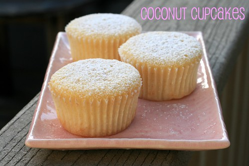 Coconut Cupcakes - Martha Stewart