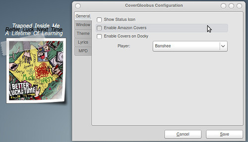 Deluge Download Stats Come To Docky, CoverGloobus Preferences Get