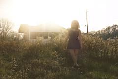 (yyellowbird) Tags: ohio sun house selfportrait abandoned girl glare toledo cari old97slyrics