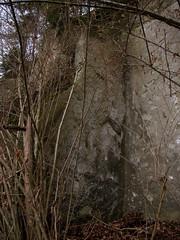 Felsaufbruch Lindenfeld bei Krauchthal , Kanton Bern , Schweiz (chrchr_75) Tags: schnee winter snow schweiz switzerland suisse swiss hiver bern neige christoph svizzera berne januar 2010 1001 berna suissa krauchthal kanton chrigu kantonbern bärn chrchr lindental thorberg hurni chrchr75 chriguhurni tannenstigli