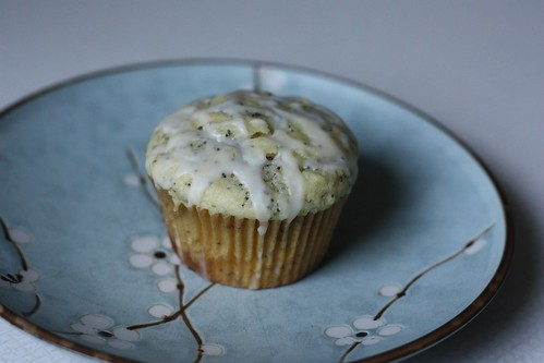 Lemon Poppyseed Muffin, Iced