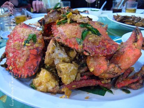Salted Egg Yolk Crab - Robson Heights Seafood Restaurant, Kuala Lumpur